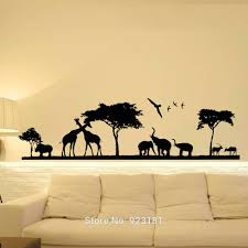 unique baby vinyl wall art ornament the wall art ations design ideas of jungle theme wall