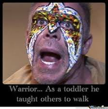 the ultimate warrior wwe 2k14 commercial on Pinterest | The ... via Relatably.com
