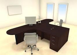 office workstation desks. 2 Person Desks Two Persons Modern Executive Office Workstation Desk Set Ch Wondrous Cool Furniture L With Bookcase End F