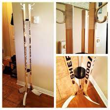 Hockey Stick Coat Rack New Hockey Stick Coat Rack House Projects Pinterest Coat Racks