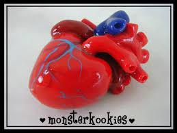 anatomically correct heart pendant make