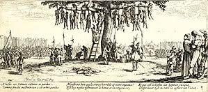thirty years war  the hanging by jacques callot jpg