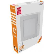 Avide <b>LED Ceiling</b> Lamp <b>Surface Mounted</b> Square ALU 12W NW ...