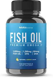 Omega 3 Fish Oil 3,600 mg - Designed to Support ... - Amazon.com