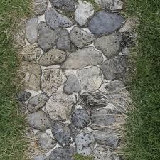 Medieval stone floor texture Pavement Medieval Grassy Road Big Rounded Stones Cobble Green Grass Old Summer Foot Path Huge Tiled Texture Sf Textures Medieval Footpath With Rounded Stones And Grassy Sides Texture Sf