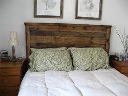 Cool Make Your Own Bed Frames And Headboards Furniture Rukle Unique Rustic  Headboard Artwork Bedroom Wall Decor Over White Covering Traditional Master  Beds