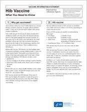 cdc hepatitis b vaccine information sheet haemophilus influenzae type b hib vaccine information statement