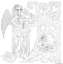 Halloween coloring pages, coloring worksheets, connect the dots and other fun. Printable Halloween Coloring Pages For Adults Popsugar Smart Living