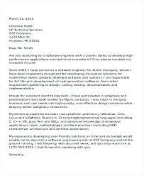 Architectural Cover Letter 6 Software Developer Cover Letter