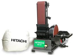 hitachi belt sander. view larger. hitachi belt sander