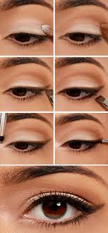 how to apply eye makeup for brown eye