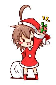 Image result for ANIME merry christmas