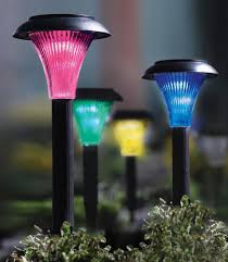 Colour Changing Solar Garden Lights Set Of 9 Colour Changing Solar Lights Garden Lights Amazon