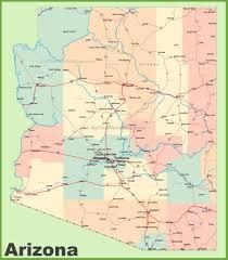 arizona state maps  usa  maps of arizona (az)