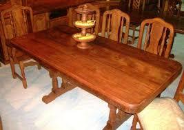 Mesa de 2 metros mas 8 sillas de algarrobo oferta