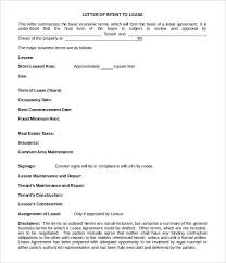 Letter Of Intent Sample Template Amazing 48 Simple Letter Of Intent Templates PDF DOC Free Premium