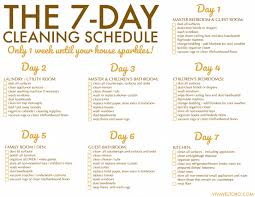 House Cleaning Template Free Free Printable Weekly House Cleaning Schedule Viva Veltoro
