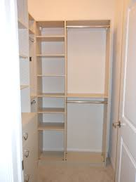 small custom closets for women. L Shaped White Wooden Closet Having Shelves And Chrome Bar With Small Custom Closets For Women