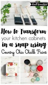 Small Picture How to Paint Your Kitchen Cabinets with Chalk Paint Dwell Beautiful