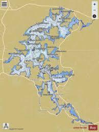 Lake Chatuge Fishing Map Us_aa_ga_lake_chatuge_ga