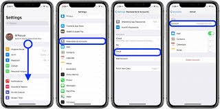 how to sync iphone contacts to gmail