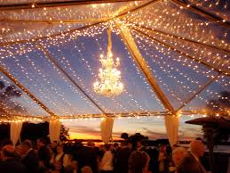 wedding reception lighting ideas. contemporary wedding transparent reception tent within outdoor lighting ideas in wedding
