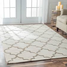 nuloom handmade moroccan trellis faux silk wool rug 6 x 9 by collection of solutions morrocan trellis rug