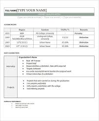 Unique Ideas Resume Samples For Freshers Resume Format Pdf For
