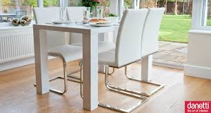 White High Gloss Dining Sets Uk Tables The Fern Table Medium Sized