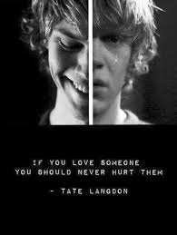 Tate Langdon Quote Series Pinterest American Horror Story Adorable Tate Langdon Quotes