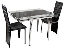 Expandable Kitchen Table Extendable Glass Dining Room Table Collective Dwnm