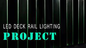 led deck rail lights. Amazing Led Glass Deck Railing Pic Of Under Rail Lighting Trends And Styles Lights E
