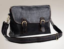 black leather messenger bag men black briefcases for men