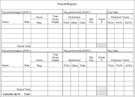 Payroll Sheet Form Barca Fontanacountryinn Com