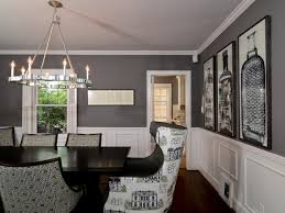 Gray Dining Room Walls Home Design Ideas - Gray dining room paint colors
