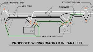 wiring diagrams for recessed lighting parallel connection wiring Wiring Lights In Series alaplaceclichy recessed lighting design ideas wiring lights in series or parallel