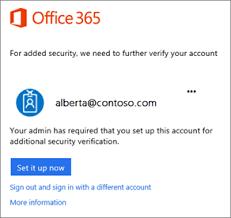 login outlook 365 set up 2 step verification for office 365 office 365