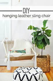 diy hanging hammock sling chair