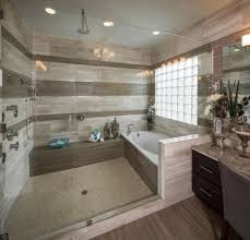 Huge and luxurious walk-in shower and tub combo. #getinspired  #MasterBathShowers