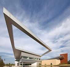 Public Safety Building Cantilevered Roof