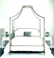 chrome canopy bed – saturdaysweets.co