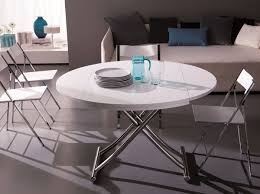 ... Adjustable Height Round Coffee Table ...