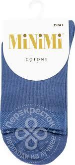 Купить <b>Носки женские MiNiMi</b> цвет Джинс р39-41 с доставкой на ...