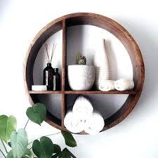 fantastic wooden wall shelf round wall shelf wood circular wall shelves interesting ideas circular wall shelf