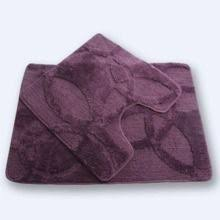 Набор из 2-х <b>ковриков Fixsen FX</b>-<b>0128A</b>-<b>2</b> Purple, 60*90/60*60 ...