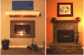 left valor h4 contemporary gas fireplace right regency alterra small wood