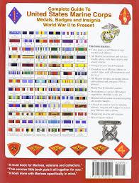 Usmc Ribbon Order Chart Accurate Marine Corps Ribbon Precedence Chart Us Marine