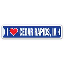 Walmart Cedar Rapids Iowa I Love Cedar Rapids Iowa Street Sign Ia City State Us Wall Road