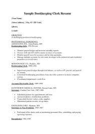 Resume Bookkeeping Resume Samples Valid Bookkeeper Sample Magnificent Bookkeeper Resume