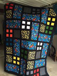 The 25+ best Batman quilt ideas on Pinterest | Crochet batman ... & Batman Quilt 2014. For the Timeless Treasures Kaleidoscope fabric? Adamdwight.com